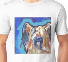 Briard Dog Bright colorful pop dog art Unisex T-Shirt