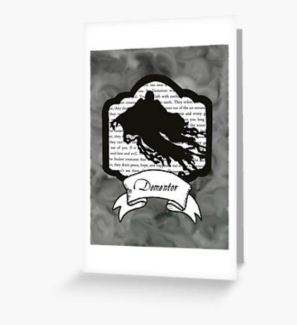 Dementor Greeting Card