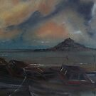 St Michaels' Mount... Cornwall by Alan Harris
