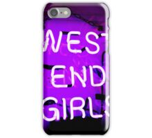 West End Girls  iPhone Case/Skin
