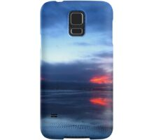 SOLD - REFLECTIONS AT SUNDOWN  - VIEW LARGE Samsung Galaxy Case/Skin