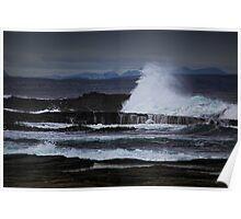 Power, Pentland Firth, Caithness, Scotland Poster