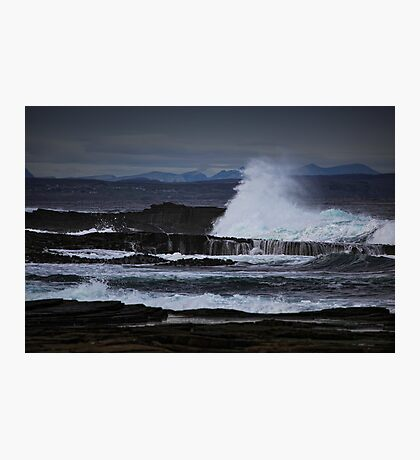 Power, Pentland Firth, Caithness, Scotland Photographic Print