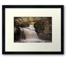 Cauldron Falls - Autumn Framed Print