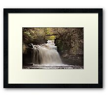 Cauldron Falls - Autumn Framed Print