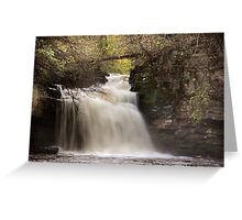 Cauldron Falls - Autumn Greeting Card
