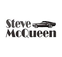 Steve McQueen & 1968 Ford Mustang GT by Djidiouf