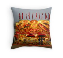 Hamburgers & Fries Throw Pillow