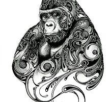 Gorilla by ConorMcAllister