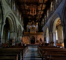 Inside St Davids Cathedral by Edward Bentley