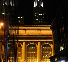 Grand Central Station at Night by jackdouglas