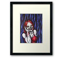 drama queen Framed Print