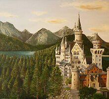 Castelo de Neuschwanstein  Baviera  < Deutschland > by josevictor
