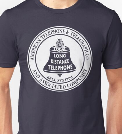Vintage American Telephone and Telegraph - Bell System Unisex T-Shirt