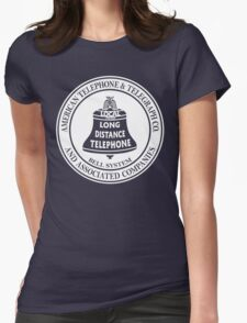 Vintage American Telephone and Telegraph - Bell System Womens Fitted T-Shirt