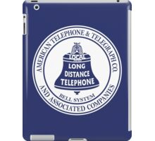 Vintage American Telephone and Telegraph - Bell System iPad Case/Skin