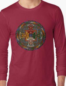 Mandala of Yamantaka Long Sleeve T-Shirt