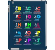 Famous Navigators & Explorers (I) iPad Case/Skin