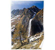 Alpine Autumn Poster