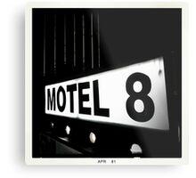 Motel 8 Metal Print