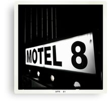 Motel 8 Canvas Print