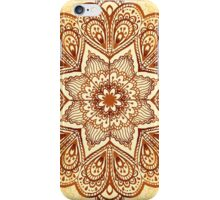 Ornate vintage vector napkin iPhone Case/Skin
