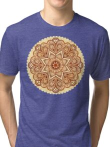 Ornate vintage vector napkin Tri-blend T-Shirt