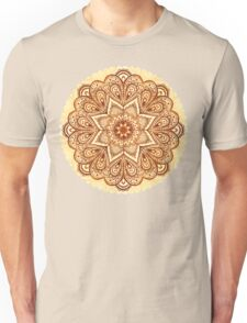 Ornate vintage vector napkin Unisex T-Shirt