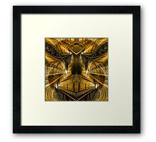 Angry - Collaboration Framed Print