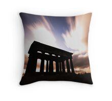 Penshaw Monument Throw Pillow