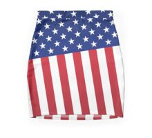Abstract American flag Mini Skirt
