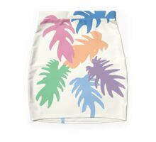 Colourful Matisse Leaves Pencil Skirt