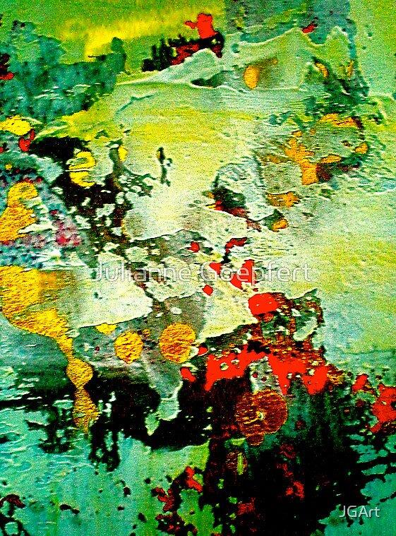 Splitting Earth by JGArt