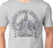 leonidas spartans gym Unisex T-Shirt