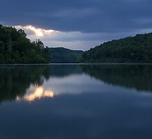Evening at the Lake by Lynn Gedeon