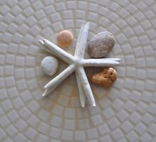 Starfish and Pebbles by jaeepathak