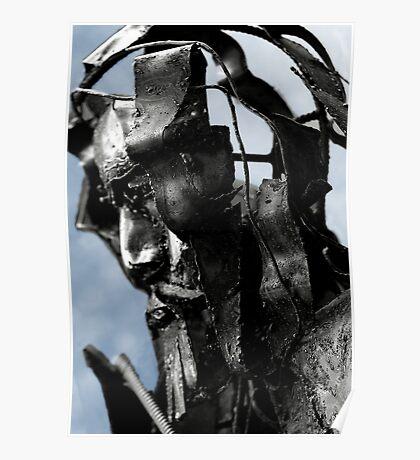 iron mans head Poster