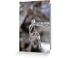 iceman - twigs and ice  Greeting Card