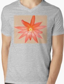 Orange on its own Mens V-Neck T-Shirt