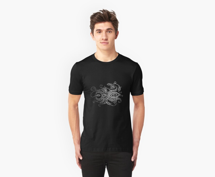 White Spider Tee by Lynnette Shelley