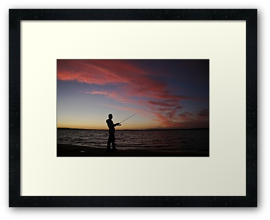 ..a nice night for fishing by Lisa  Kenny