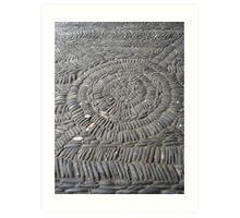 Stone Floor, Gruyere Fort, Switzerland Art Print