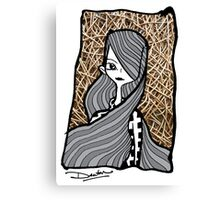 My hair blanket Canvas Print