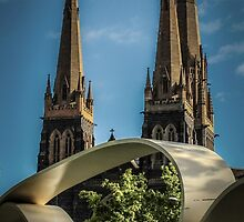 Great Petition and St. Patricks Cathedral, Melbourne by Deanna Gardam