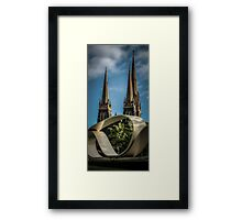 Great Petition and St. Patricks Cathedral, Melbourne Framed Print