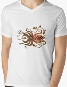 Red Spider Tee Mens V-Neck T-Shirt