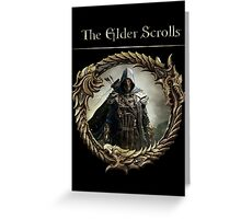 THE ELDER SCROLLS Greeting Card