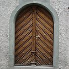 Antique Door, Rapperswill, Switzerland by Jaee Pathak