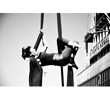 Flexible woman Photographic Print