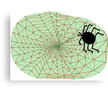 The Spider and the Web Canvas Print